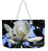 Magnolia In Blue Weekender Tote Bag