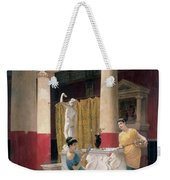 Maidens In A Classical Interior Weekender Tote Bag