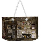 Mailboxes With Graffiti Weekender Tote Bag by RicardMN Photography
