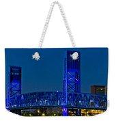 Main Street Bridge Jacksonville Weekender Tote Bag