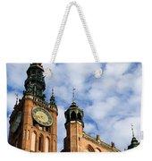 Main Town Hall In Gdansk Weekender Tote Bag