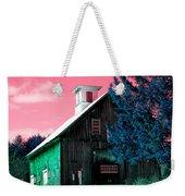 Maine Barn Weekender Tote Bag