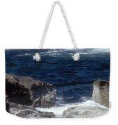 Maine Coast Surf Weekender Tote Bag