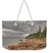 Maine Coastline. Acadia National Park Weekender Tote Bag