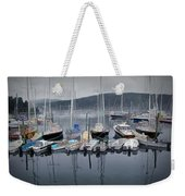 Maine Harbor Weekender Tote Bag