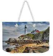 Maine Head Light Weekender Tote Bag