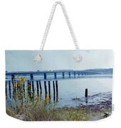Maine Highway Weekender Tote Bag