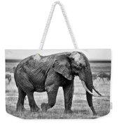 Majestic African Elephant Weekender Tote Bag
