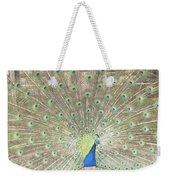 Majestic Peacock Weekender Tote Bag