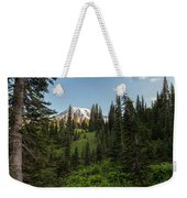 Majestic Rainier Weekender Tote Bag
