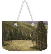 Majesty In The Rockies Weekender Tote Bag