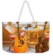Making Music 004 Weekender Tote Bag by Barry Jones
