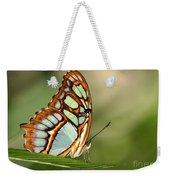 Malachite Butterfly Weekender Tote Bag