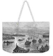 Malaya: Perak River, 1876 Weekender Tote Bag