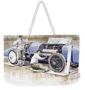 Malcolm Campbell Sunbeam Bluebird 1924 Weekender Tote Bag