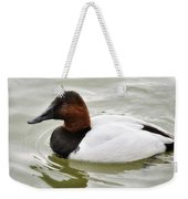 Male Canvasback Duck  Weekender Tote Bag