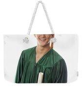 Male Graduate Weekender Tote Bag
