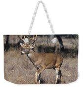 Male White-tailed Deer Weekender Tote Bag