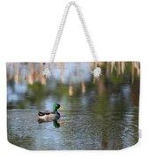 Mallard - Duck - Lonely Guy Weekender Tote Bag