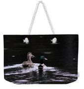 Mallards - Like Walking In The Rain Weekender Tote Bag