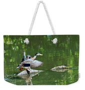 Mallards Taking Off Weekender Tote Bag