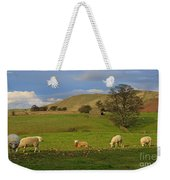 Mallerstang Dale In Cumbria Uk Weekender Tote Bag