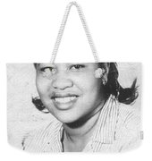Mama Back In The Day Weekender Tote Bag