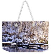 Mama Duck On Patrol Weekender Tote Bag