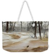 Mammoth Terrace Runoff Weekender Tote Bag