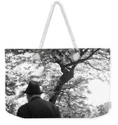 Man In Hat Weekender Tote Bag