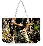 Man In The Wilderness Weekender Tote Bag