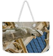 Man With Gaping Mouth Weekender Tote Bag