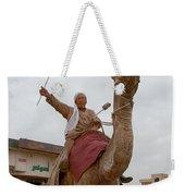 Man With His Camel Weekender Tote Bag