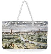 Manchester, England, 1740 Weekender Tote Bag
