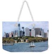 Manhattan Backdrop Weekender Tote Bag
