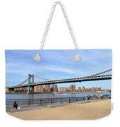 Manhattan Bridge1 Weekender Tote Bag
