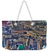 Manhattan Lincoln Tunnel Entrance Weekender Tote Bag