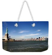 Manhattan Skyline Weekender Tote Bag