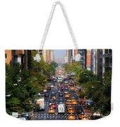 Manhattan Street Weekender Tote Bag