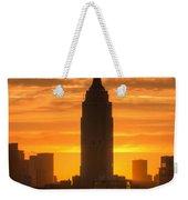 Manhattan Sunrise II Weekender Tote Bag