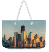 Manhattan Sunset Reflections Weekender Tote Bag