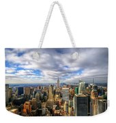 Manhattan05 Weekender Tote Bag by Svetlana Sewell