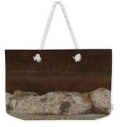 Manhole Cover And Rock Weekender Tote Bag