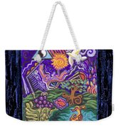Manifest Destiny Weekender Tote Bag by Genevieve Esson