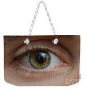 Mans Eye Weekender Tote Bag