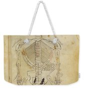 Mansurs Anatomy, Skeletal System, 15th Weekender Tote Bag