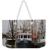 Many Fish Boats Weekender Tote Bag