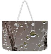 Many Worlds In One Small Space Weekender Tote Bag