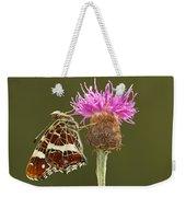 Map Butterfly Araschnia Levana Weekender Tote Bag