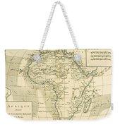 Map Of Africa Weekender Tote Bag